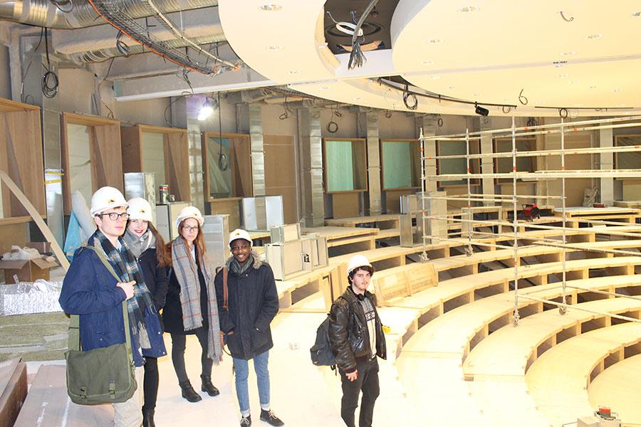 Chantier immobilier - auditorium