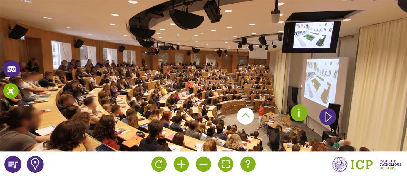 Visite virtuelle - Auditorium