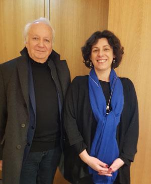 Jean-Marie Cavada et Corinne Valasik