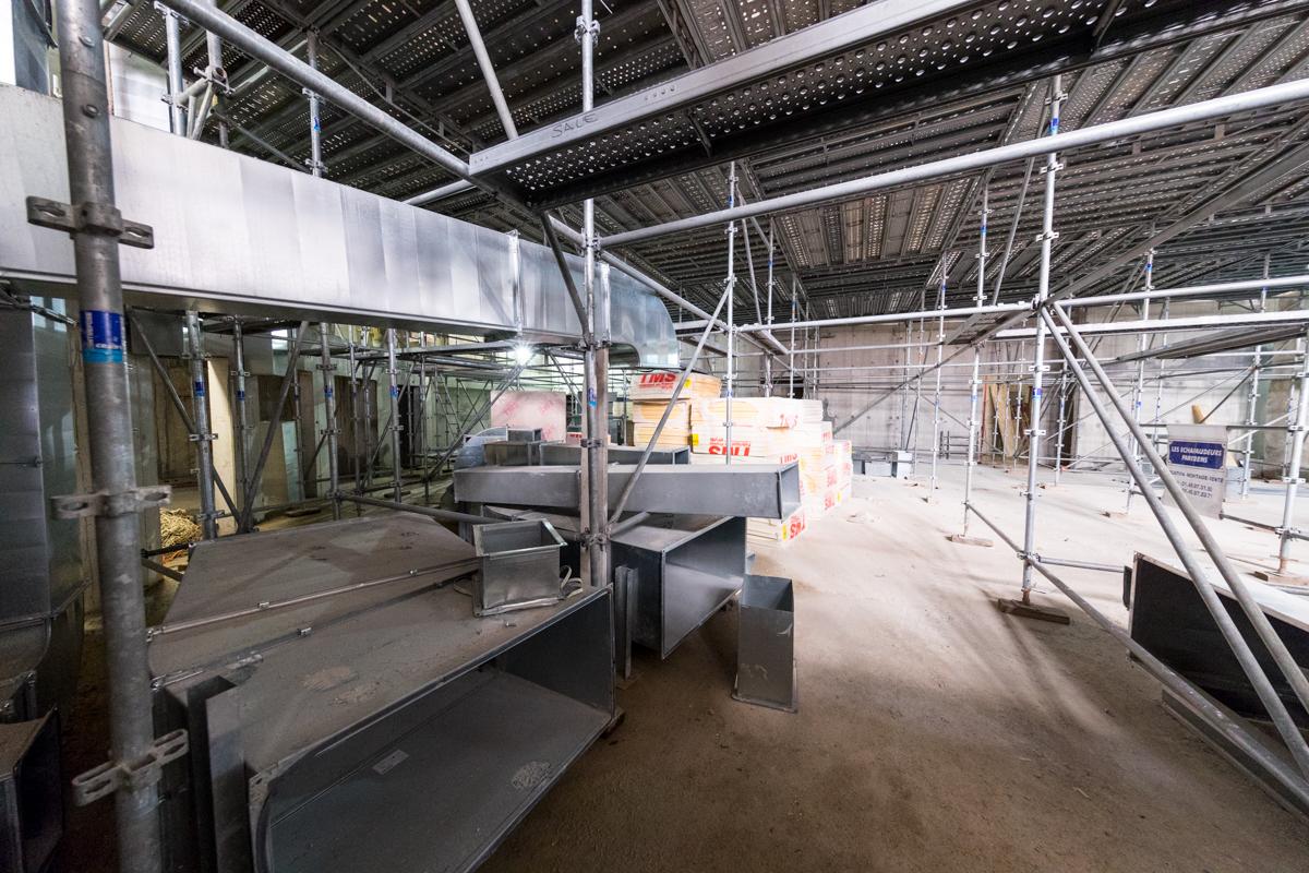 Intérieur du bâtiment - Sept. 2016