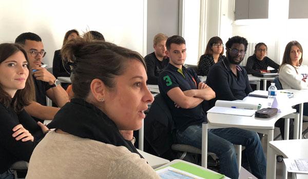 Les étudiants de la 2e promotion du Bachelor de l'ESQESE Paris