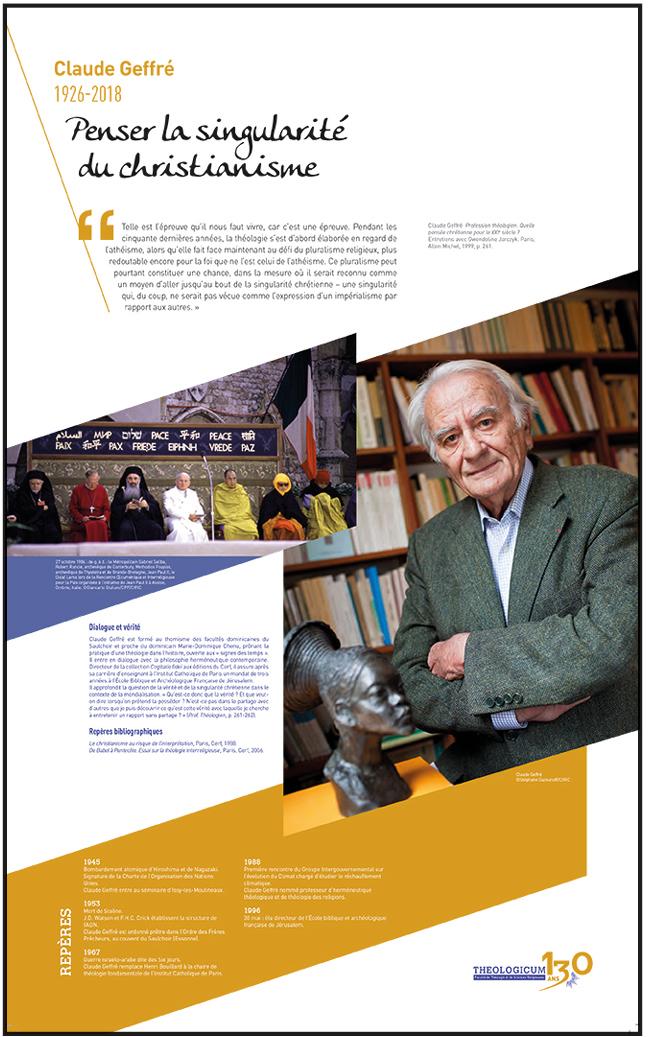 expo 130 ans de théologie à l'ICP