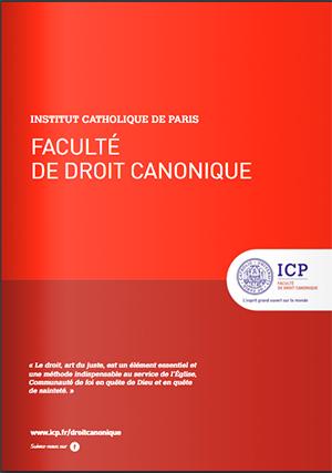 Brochure Droit Canonique