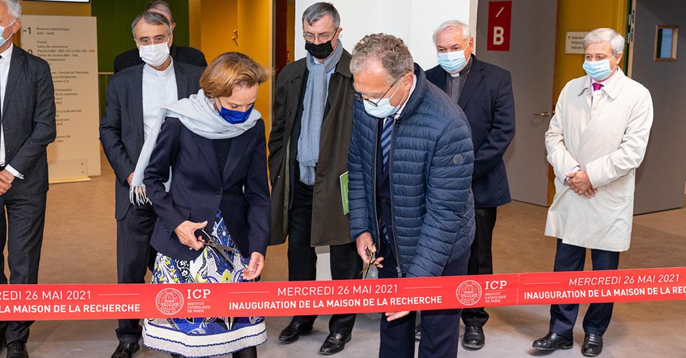 L'Institut Catholique de Paris inaugure sa Maison de la Recherche
