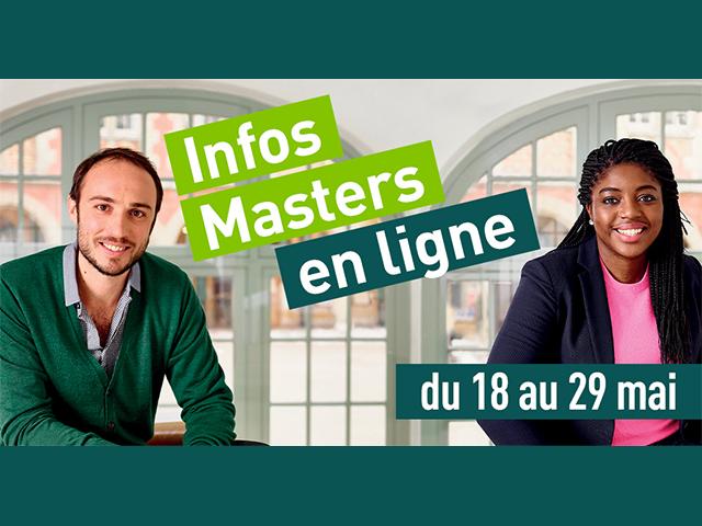 Infos Masters en ligne