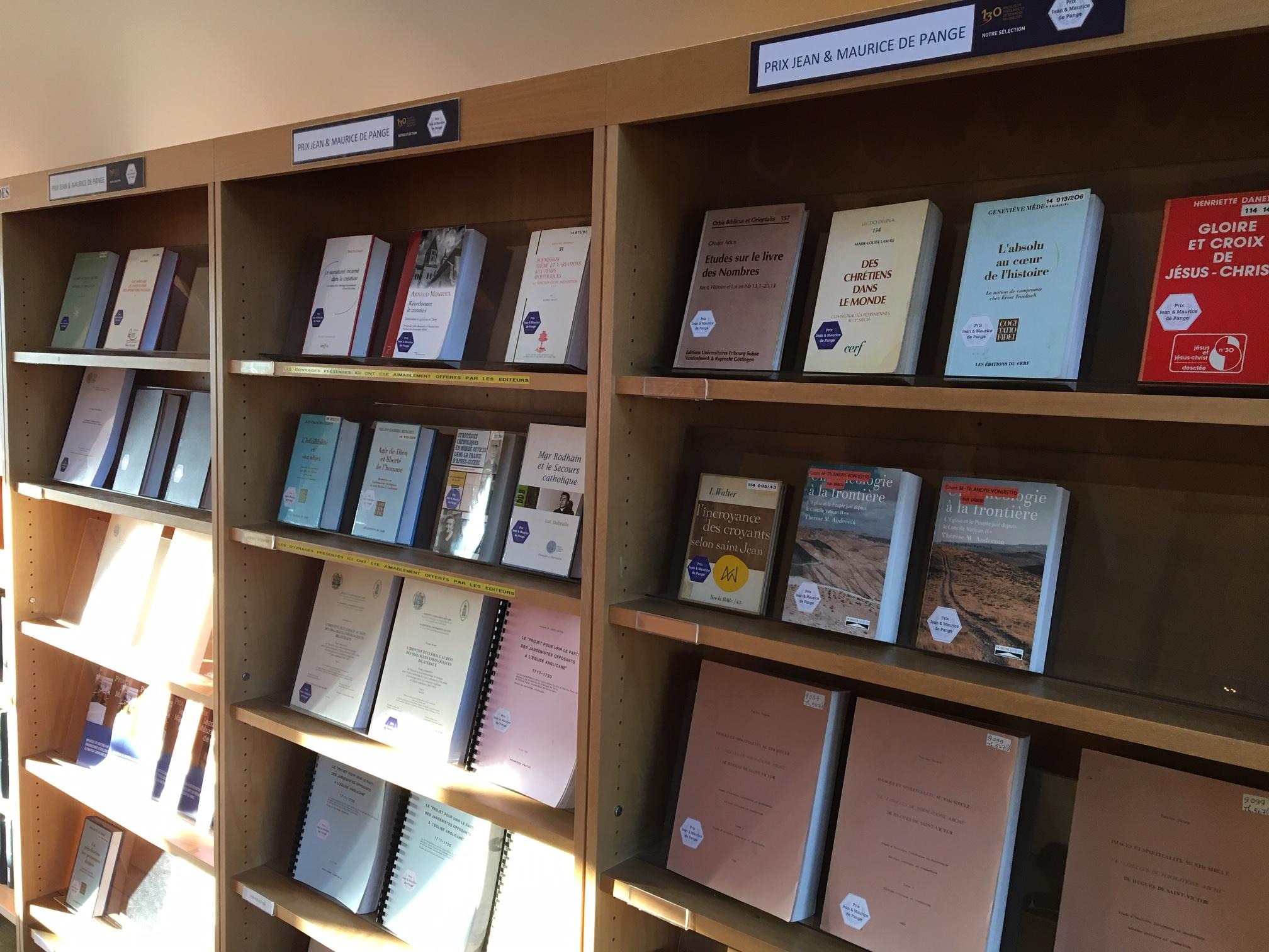 exposition prix de pange bibliothèques