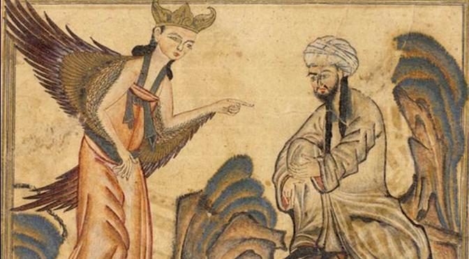 l'art et le sacré_miniature perse
