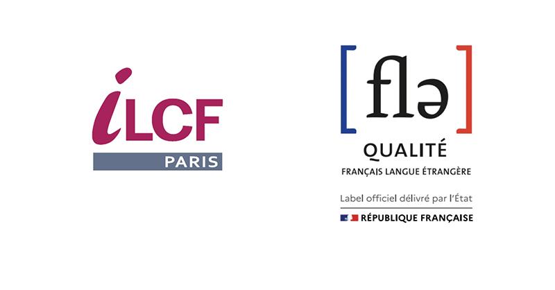 logos ILCF - Label qualité FLE