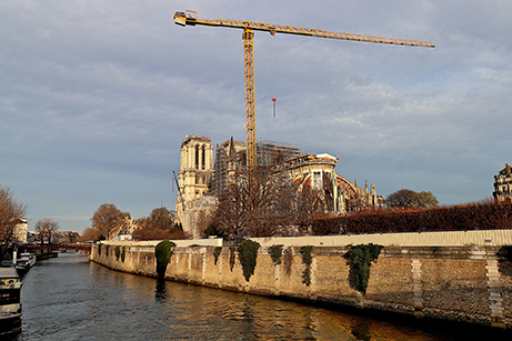 ND Paris travaux