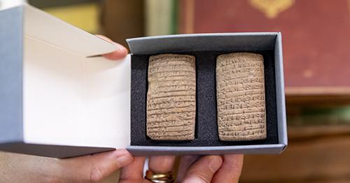Tablettes cunéiformes