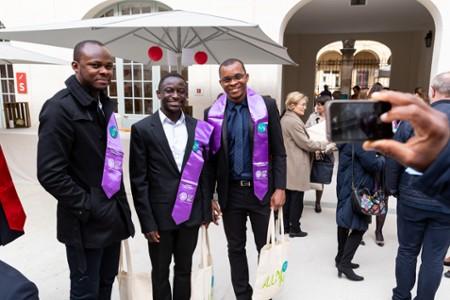Le campus en fête pour célébrer les diplômés de l'année