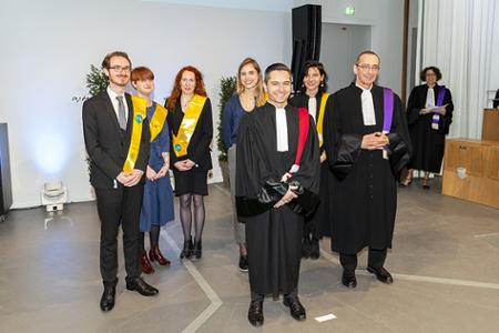Cérémonie remise des diplômes 2018